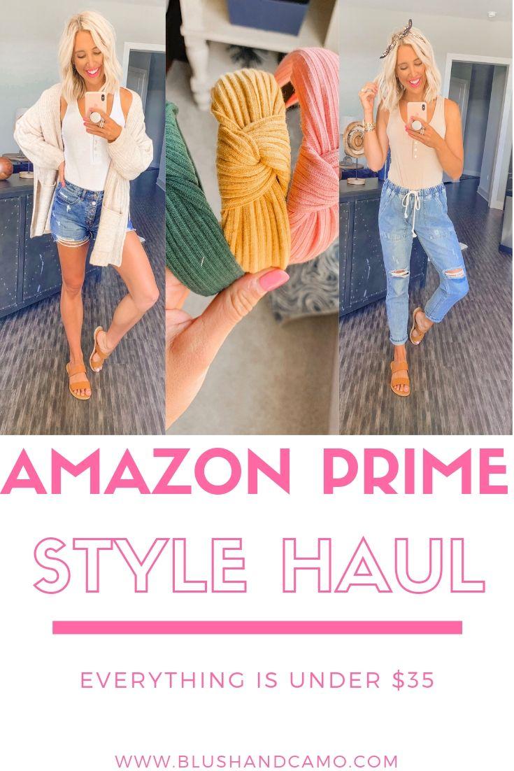 Amazon Prime Style Haul Under $35