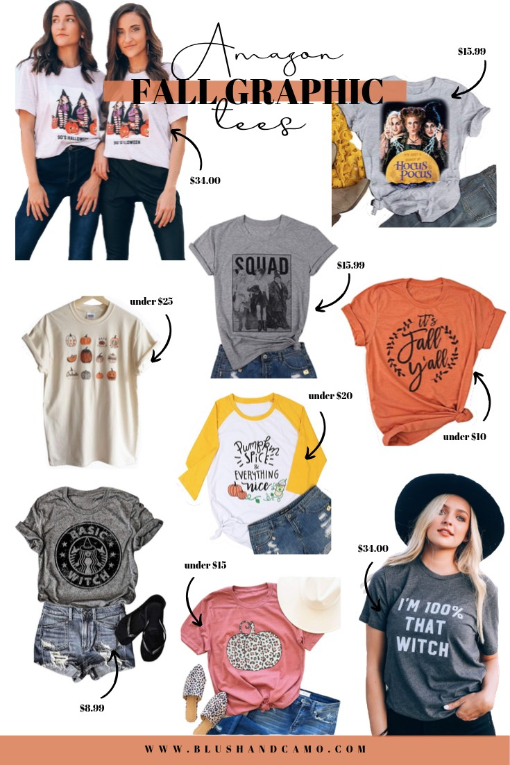 15 Fall Graphic Tees Under $35