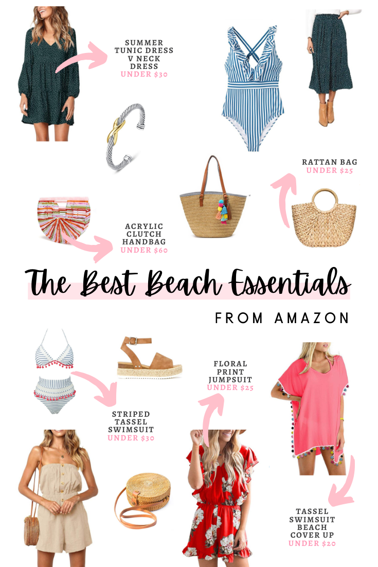The BEST Beach Essentials From Amazon