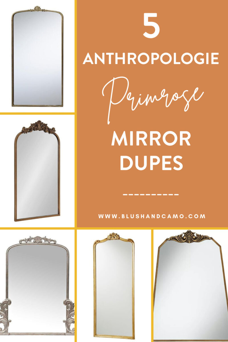 5 Affordable Anthropologie Mirror Dupes